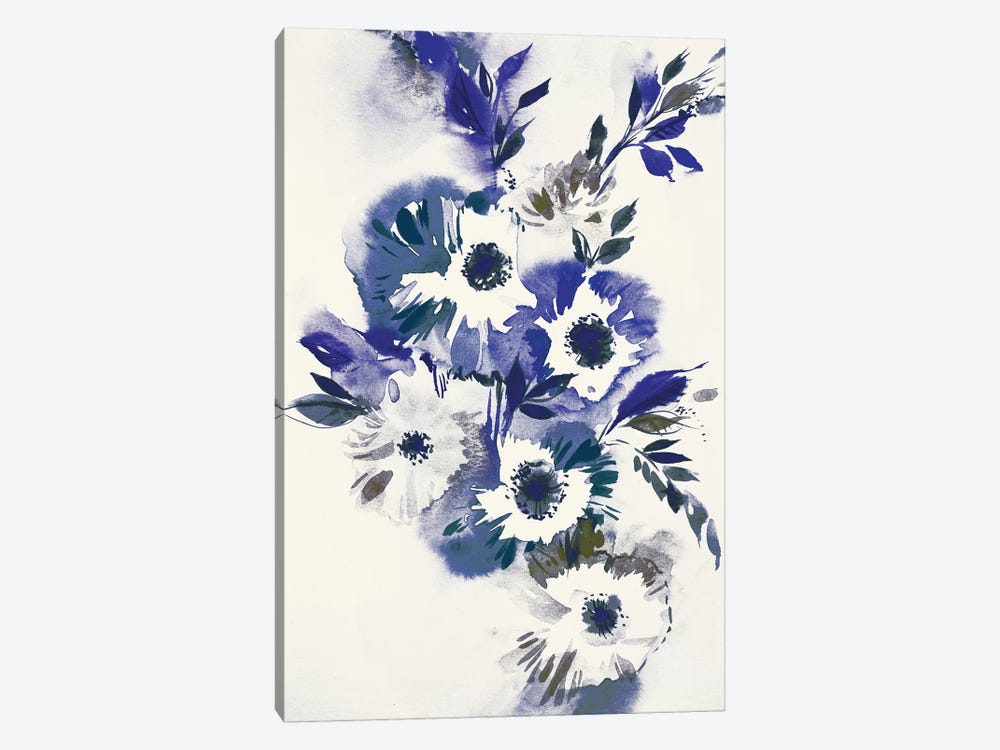 Blue Bouquet II by Lesia Binkin 1-piece Art Print