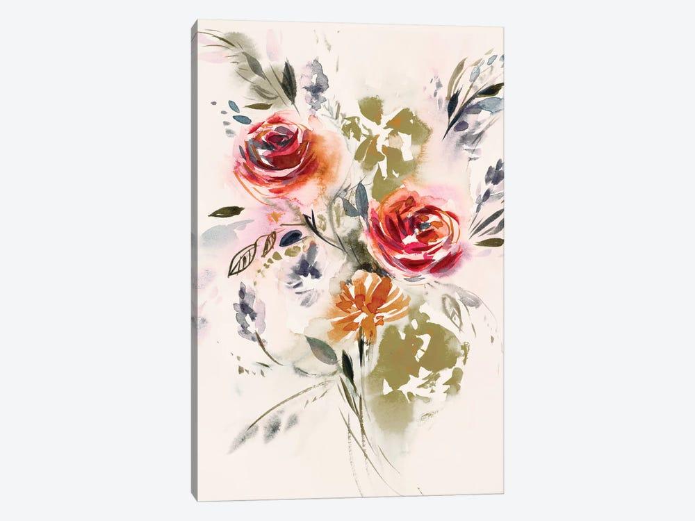 Bouquet by Lesia Binkin 1-piece Canvas Wall Art