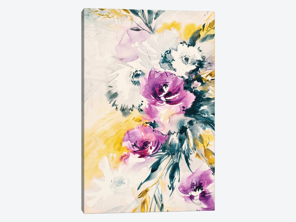Colorful Bouquet III 1-piece Art Print