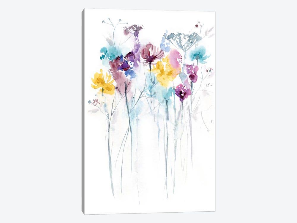 Field of Flowers II by Lesia Binkin 1-piece Canvas Art
