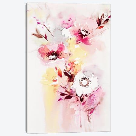 Minimalist Bouquet I Canvas Print #LES82} by Lesia Binkin Canvas Print