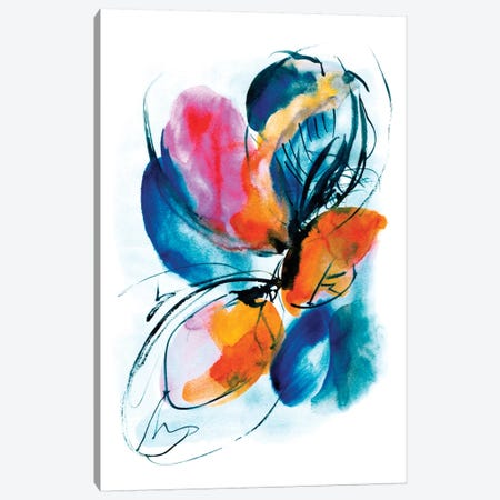 Deep Water Canvas Print #LES8} by Lesia Binkin Canvas Wall Art