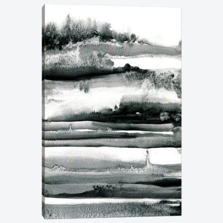 Spring Field Abstract Canvas Print #LES90} by Lesia Binkin Canvas Art