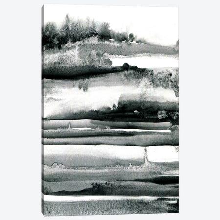 Spring Field Abstract Canvas Print #LES90} by Lesia Binkin Canvas Art