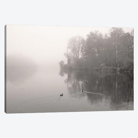 River In Mist Canvas Print #LEW103} by Lena Weisbek Canvas Print