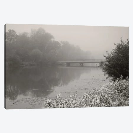 Foggy Morning Canvas Print #LEW106} by Lena Weisbek Canvas Art