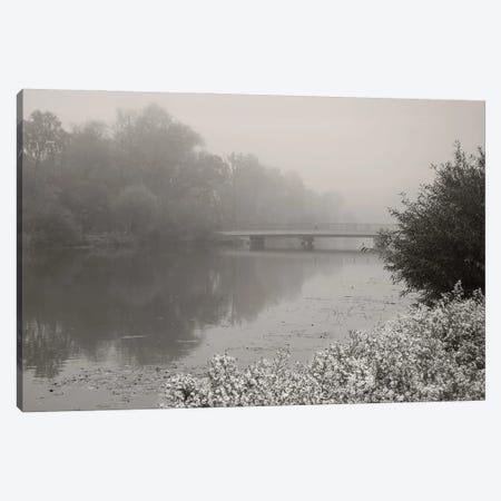 Foggy Morning Canvas Print #LEW106} by Lena Weisbek Canvas Art