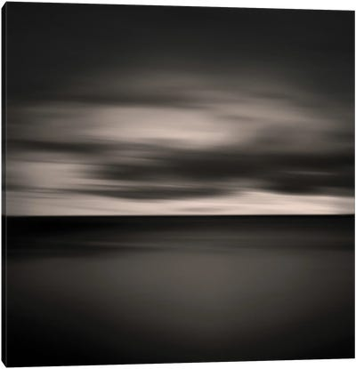 Clouds Over The Sea Canvas Art Print