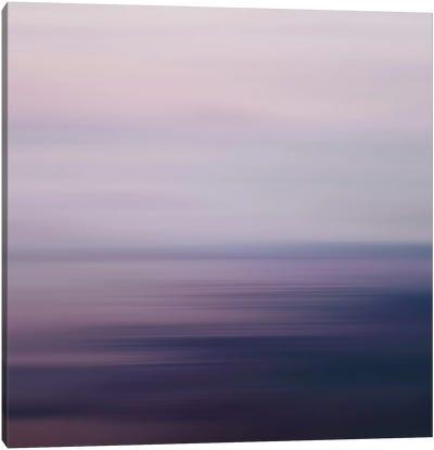 Blured Sea Canvas Art Print