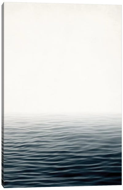 Misty Sea Canvas Art Print