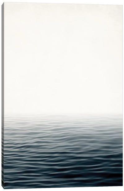 Misty Sea Canvas Art Print
