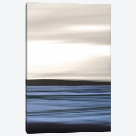 Sea Abstraction Canvas Print #LEW55} by Lena Weisbek Canvas Art Print