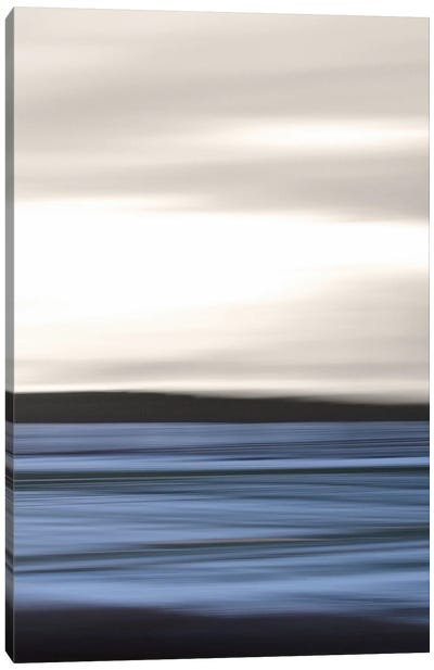 Sea Abstraction Canvas Art Print
