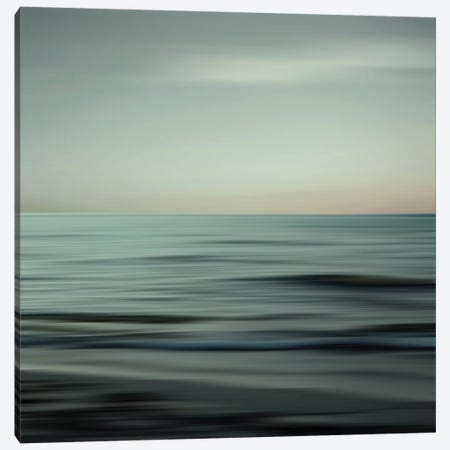Waves Of Calm Canvas Print #LEW63} by Lena Weisbek Canvas Print