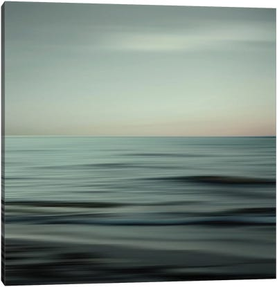 Waves Of Calm Canvas Art Print
