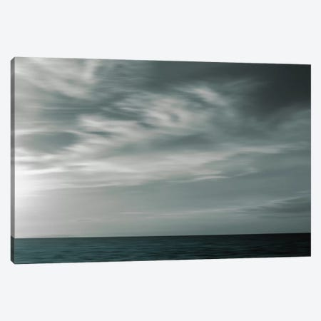 Sky and Sea Canvas Print #LEW64} by Lena Weisbek Canvas Wall Art