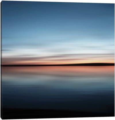 When Sea Meets The Sky Canvas Art Print