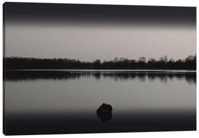Silence By The Lake II Canvas Art Print