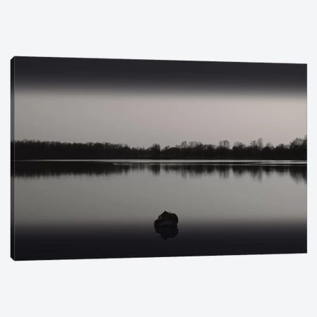 Silence By The Lake II Canvas Print #LEW90} by Lena Weisbek Canvas Wall Art