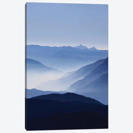 Blue Mountains Canvas Print #LEX1} by Lexie Greer Canvas Art Print