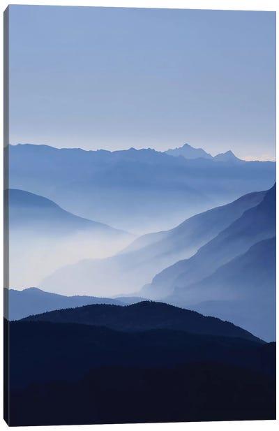 Blue Mountains Canvas Art Print