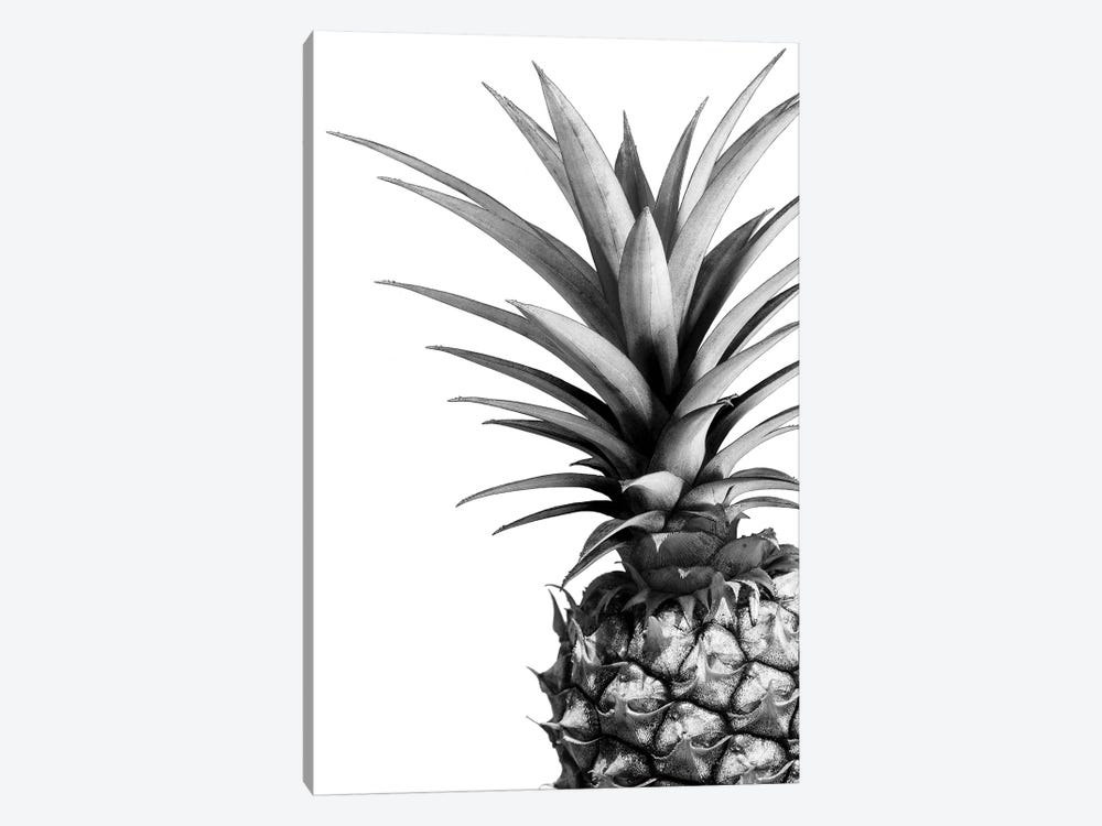 Pineapple In B&W 1-piece Art Print