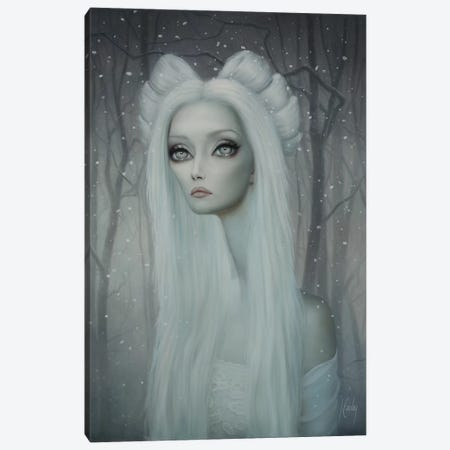 Angela Canvas Print #LEY1} by Lori Earley Canvas Wall Art