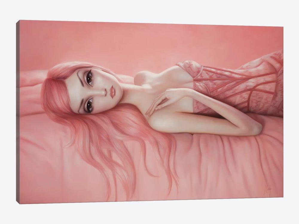 Audrey by Lori Earley 1-piece Canvas Print