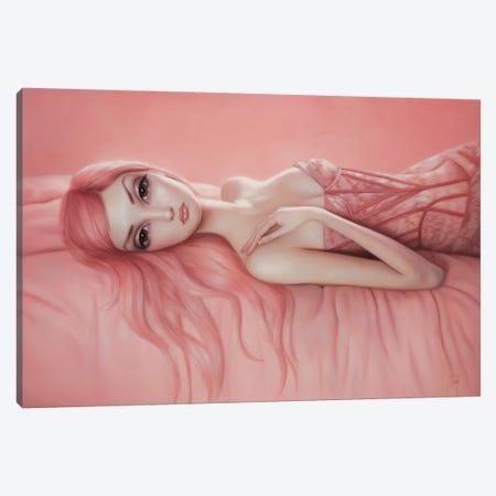 Audrey Canvas Print #LEY2} by Lori Earley Canvas Artwork
