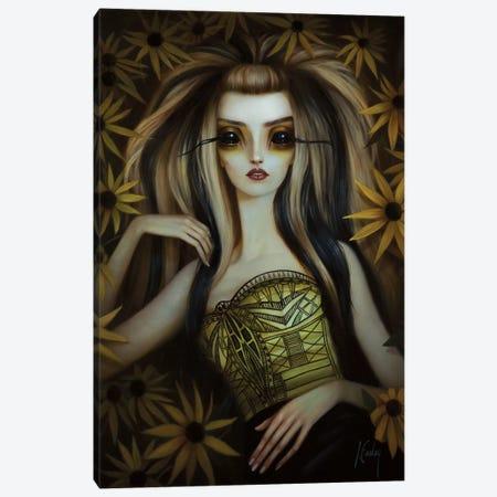 Black-Eyed Susan Canvas Print #LEY3} by Lori Earley Canvas Wall Art
