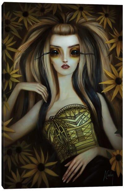 Black-Eyed Susan Canvas Art Print