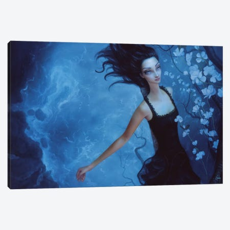 Caterpillar Dream Canvas Print #LEY4} by Lori Earley Canvas Print