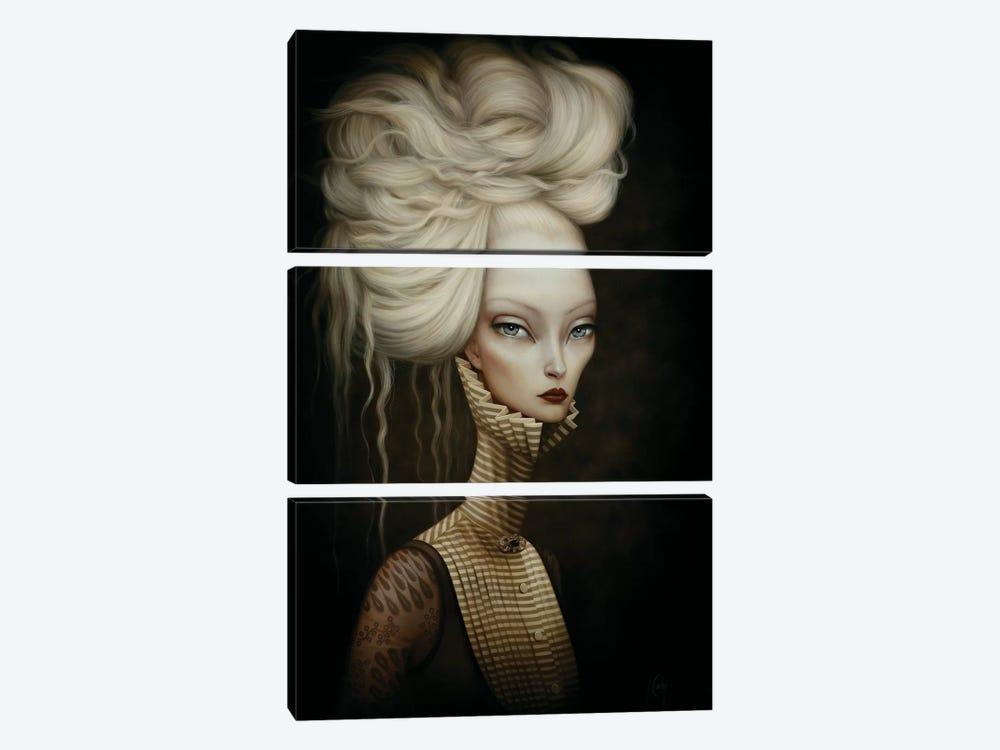 MS. V by Lori Earley 3-piece Canvas Art Print