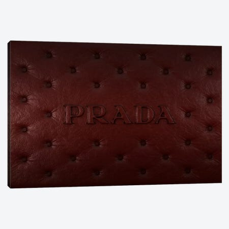 Burgundy Prada Canvas Print #LFA1} by 5by5collective Canvas Art