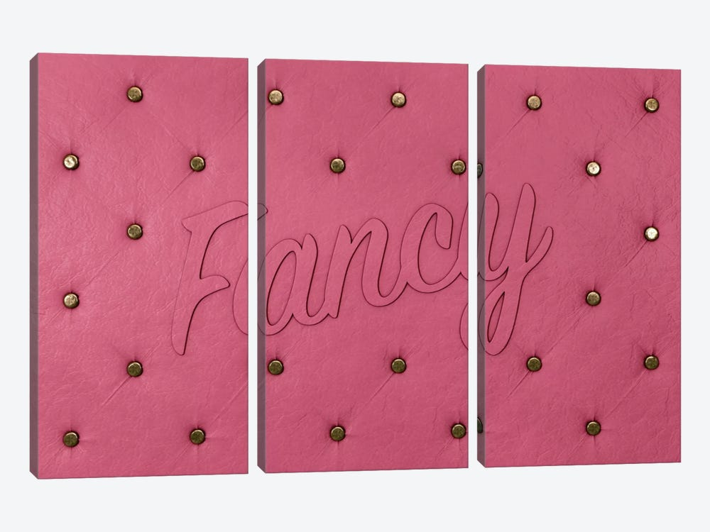 Fancy Pink by 5by5collective 3-piece Art Print