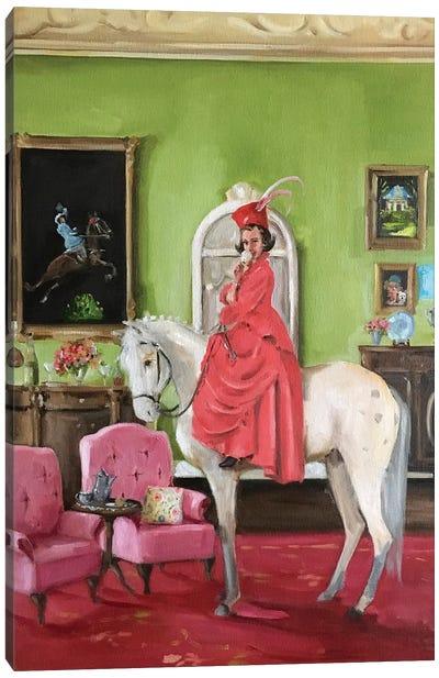 The Whimsical Wanderings Of Wilhemina Wickledown Canvas Art Print
