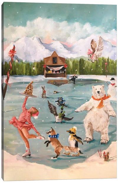 Winter Fun Canvas Art Print