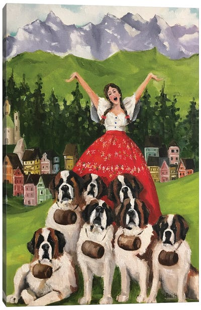 The Songstress Of Salzberg Canvas Art Print