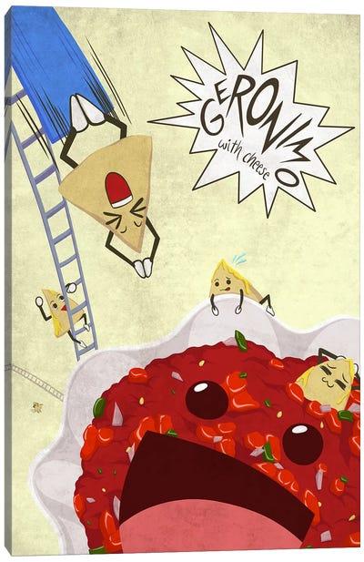 Tasty Dunk Canvas Print #LFD1