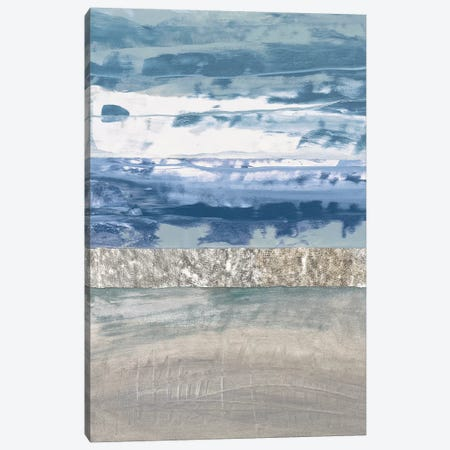 Coastal Hues II Canvas Print #LFI9} by Laurie Fields Canvas Art
