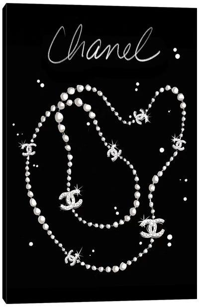 Chanel Necklace Canvas Art Print