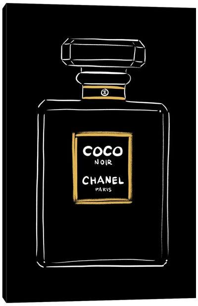 Chanel Coco Noir Canvas Art Print