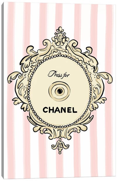 Press for Chanel Canvas Art Print