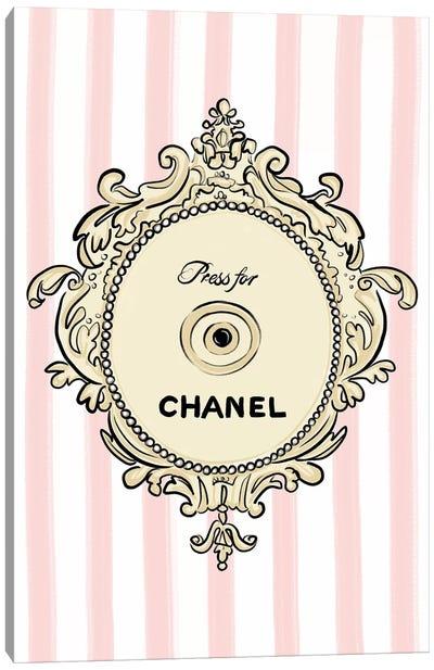 Press for Chanel Canvas Art Print