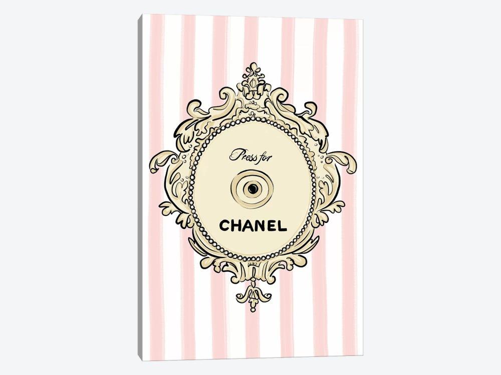 Press for Chanel by La femme Jojo 1-piece Canvas Art Print