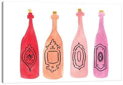 Bottles Canvas Art Print