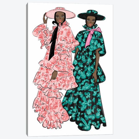 Erdem Femmes Canvas Print #LFJ127} by La femme Jojo Canvas Art