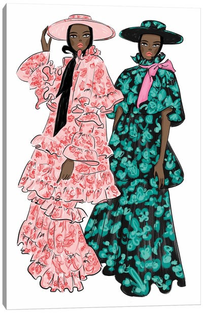 Erdem Femmes Canvas Art Print