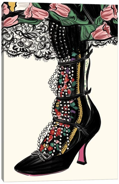Gucci Garden Shoe Canvas Art Print