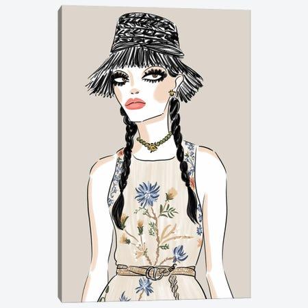Springtime Dior Canvas Print #LFJ150} by La femme Jojo Canvas Art